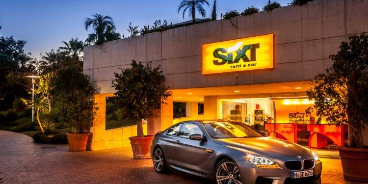 BMW M6 Car Hire at Sixt