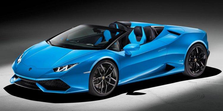 Lamborghini Huracan Spyder Car