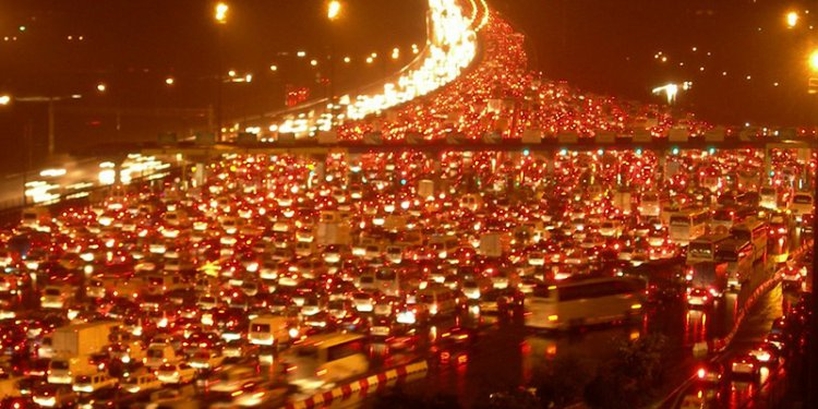 Traffic in Turkey