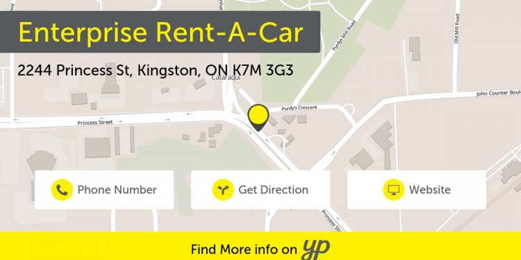 Rent a car Kingston Ontario