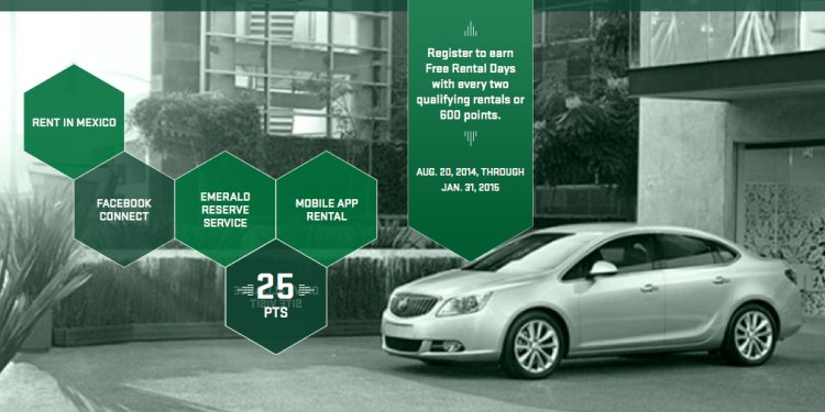 Emerald rental a car