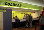 Goldcar airport table