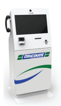 Image of a price reduction automobile kiosk
