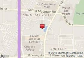 Map of Avis venue:Mirage Hotel & Casino