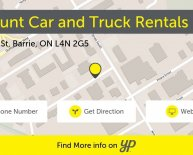 Car Rentals in Barrie Ontario